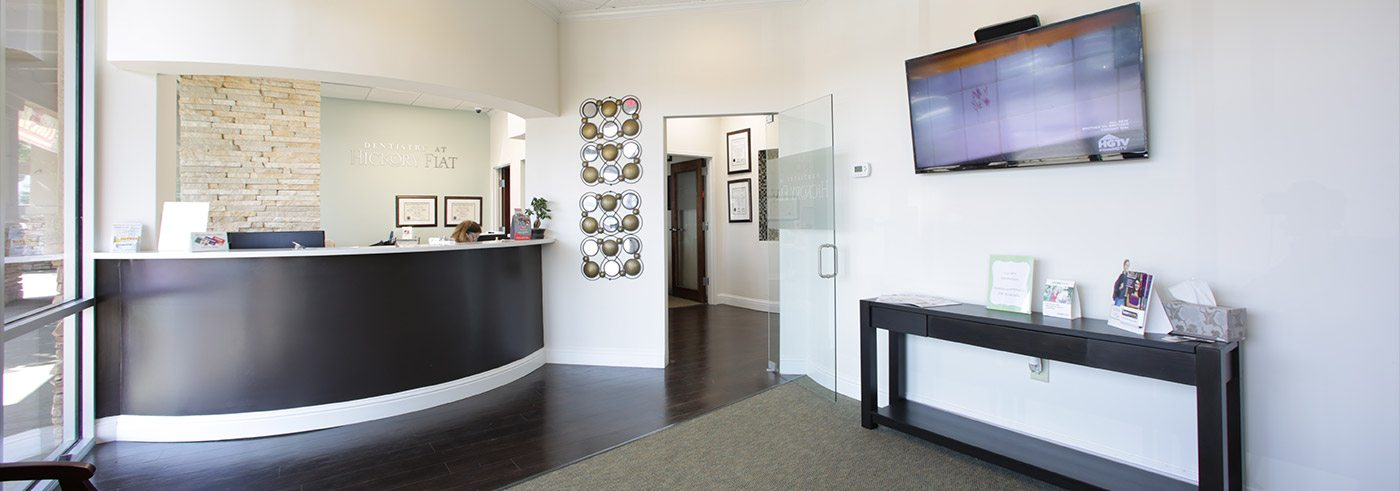 Welcoming front desk